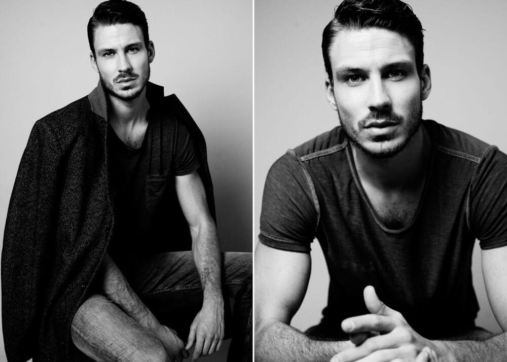Alejandro C modelo masculino y actor de la Agencia Plugged Models