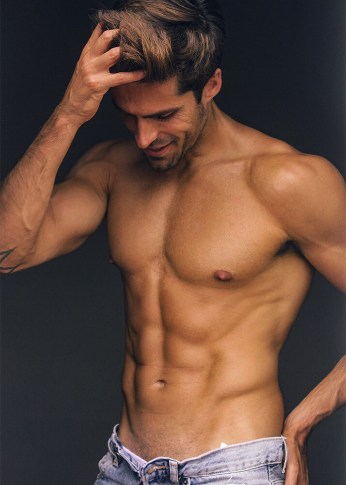 Eder A Modelo Masculino de la Agencia Plugged Models