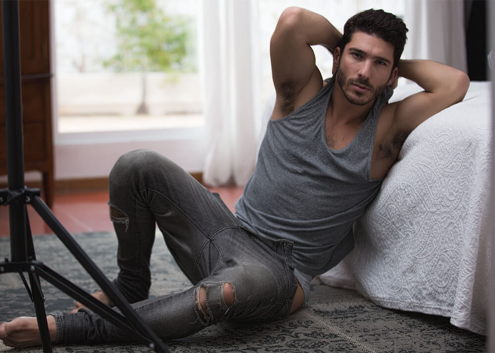 Toni S actor, dancer and male model from Plugged Models