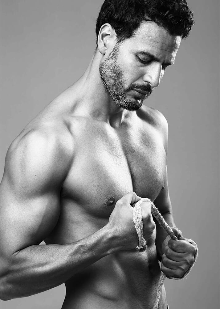 Álvaro B modelo masculino y actor de la Agencia Plugged Models
