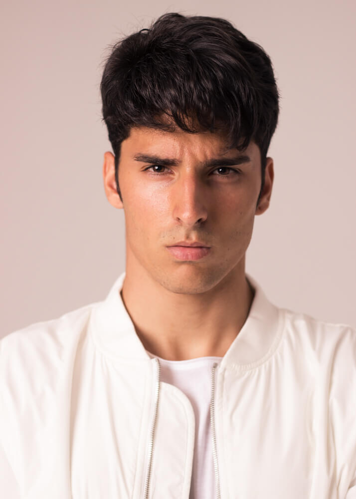 Adriel M. male model and actor from Plugged Models Management Agency
