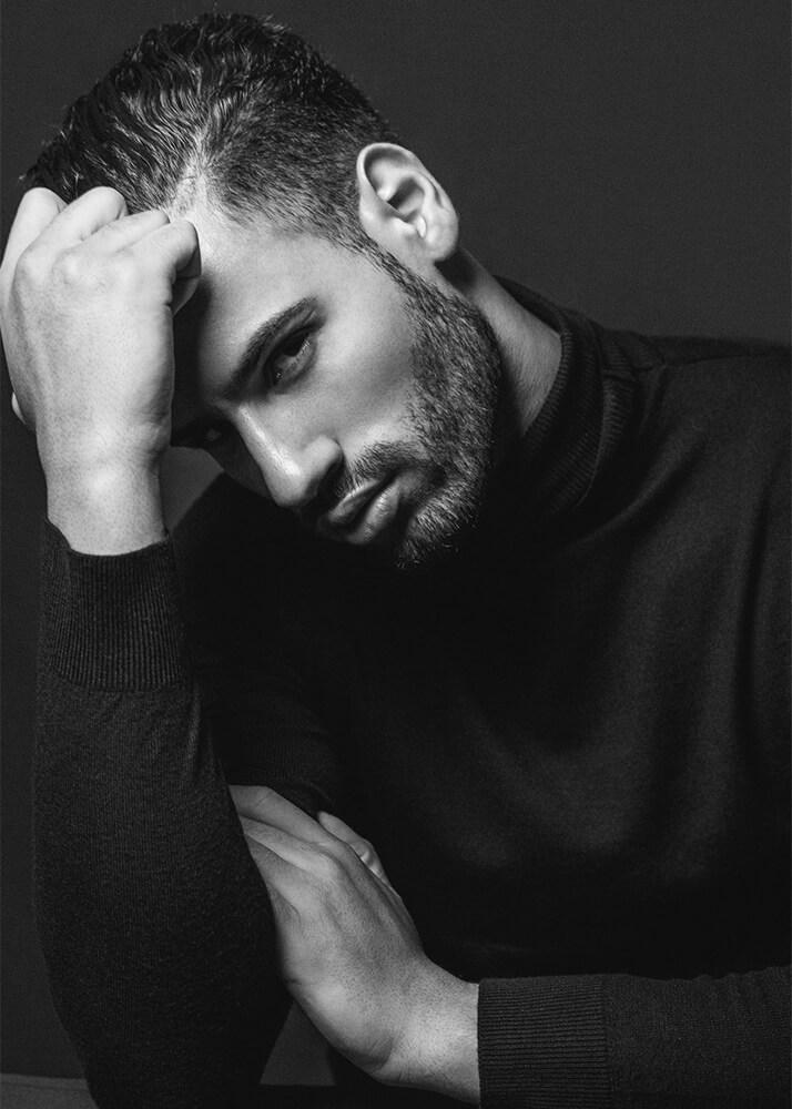 Asraf B modelo masculino de la Agencia Plugged Models