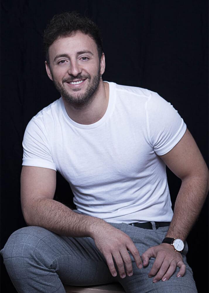 Carlo B actor de la agencia Plugged Models