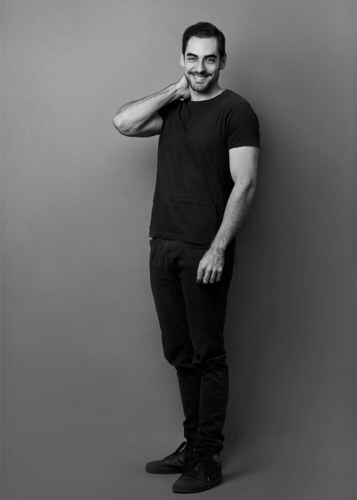 Cristian I actor publicitario de la agencia Plugged Models