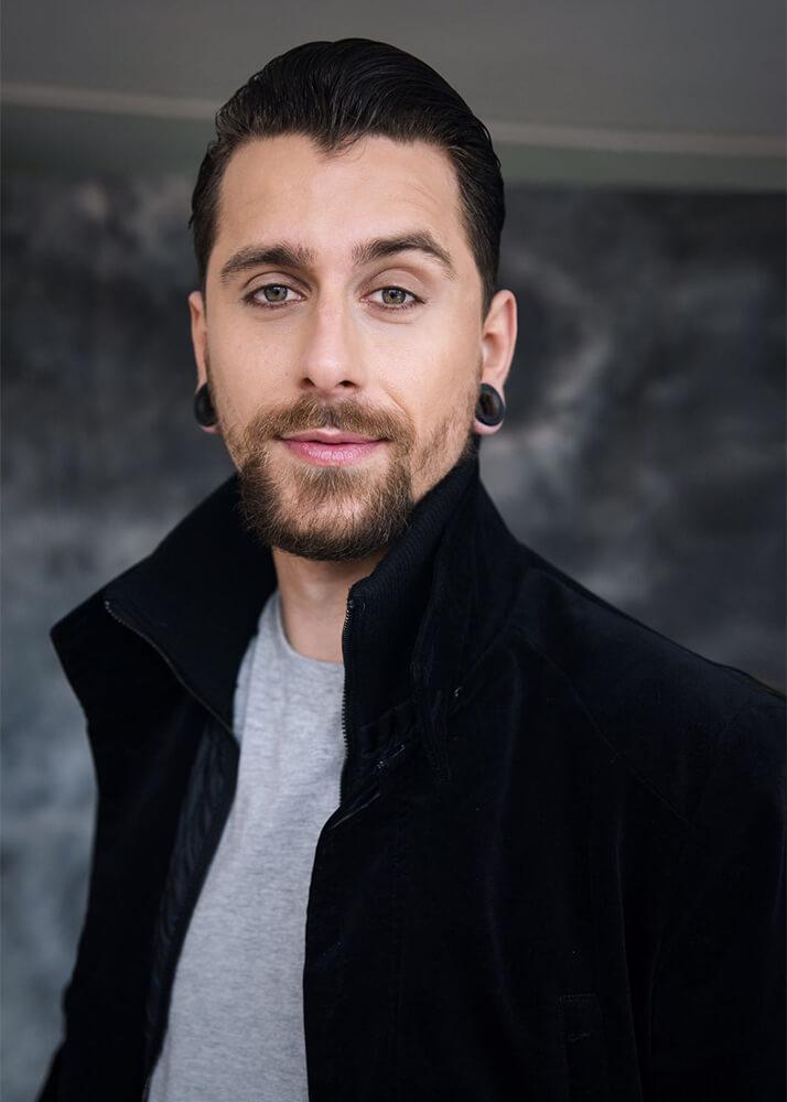 David C Modelo Masculino de la Agencia Plugged Models