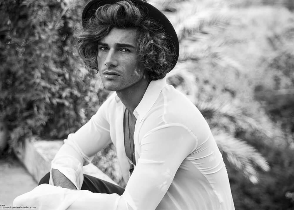 Guillem C modelo masculino de la Agencia Plugged Models