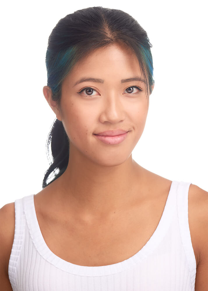Isa O modelo femenina publicitaria de la Agencia Plugged Models