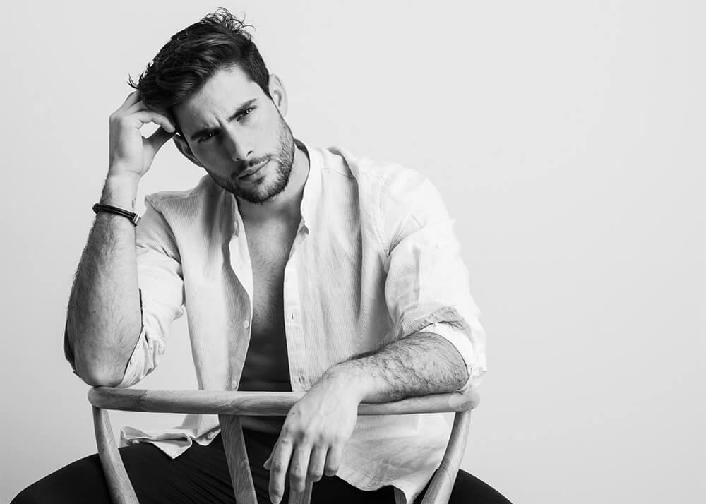Isidro P modelo masculino de la Agencia Plugged Models