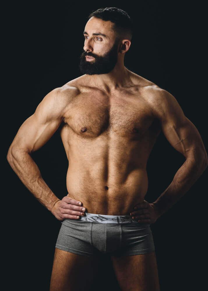 Jorge C modelo masculino de la agencia Plugged Models