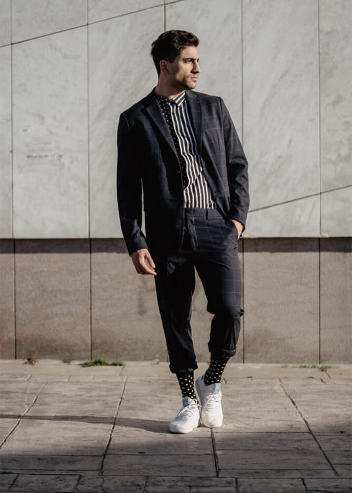 Josué L modelo masculino de la agencia Plugged Models