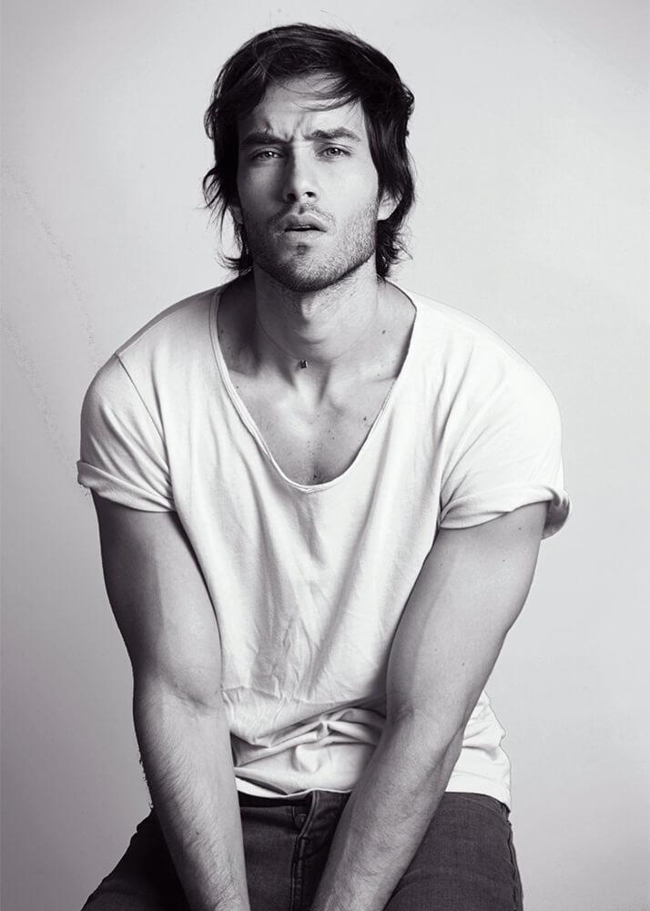 Juan Carlos E Modelo Masculino de la Agencia Plugged Models