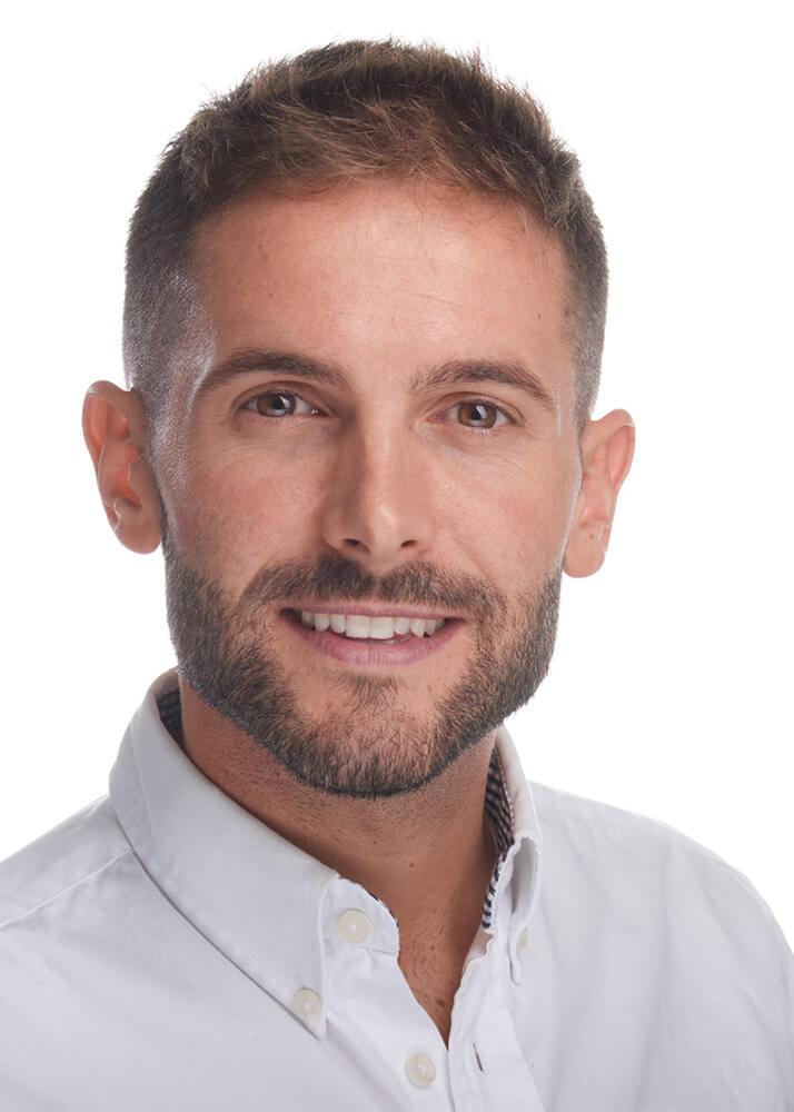 Juanje F modelo publicitario de la Agencia Plugged Models