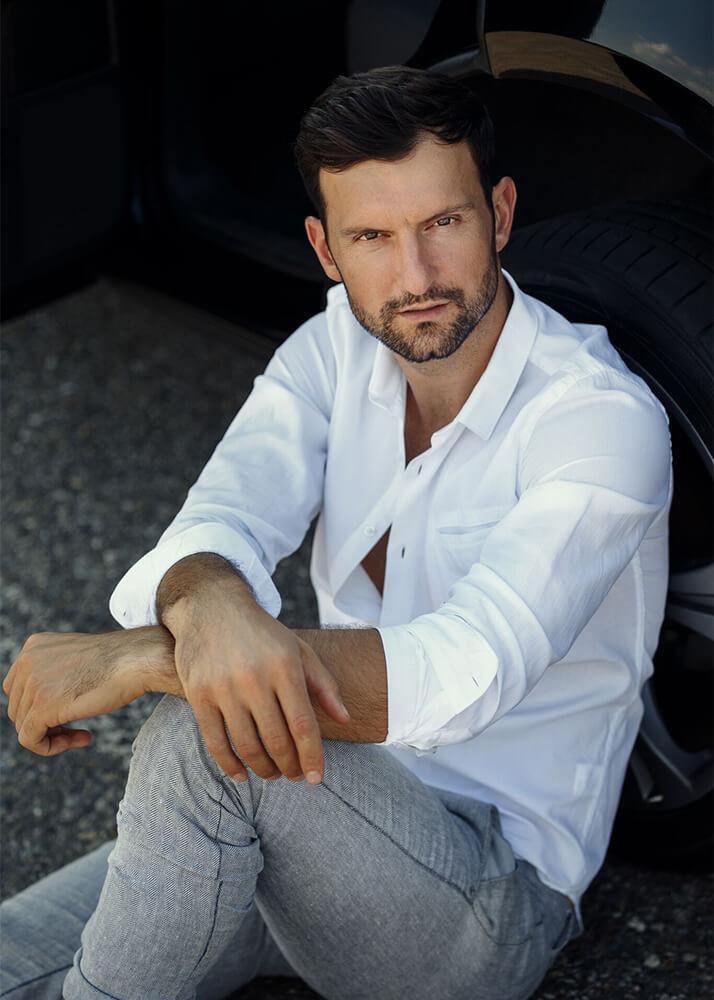 Kledy I modelo masculino de la Agencia Plugged Models