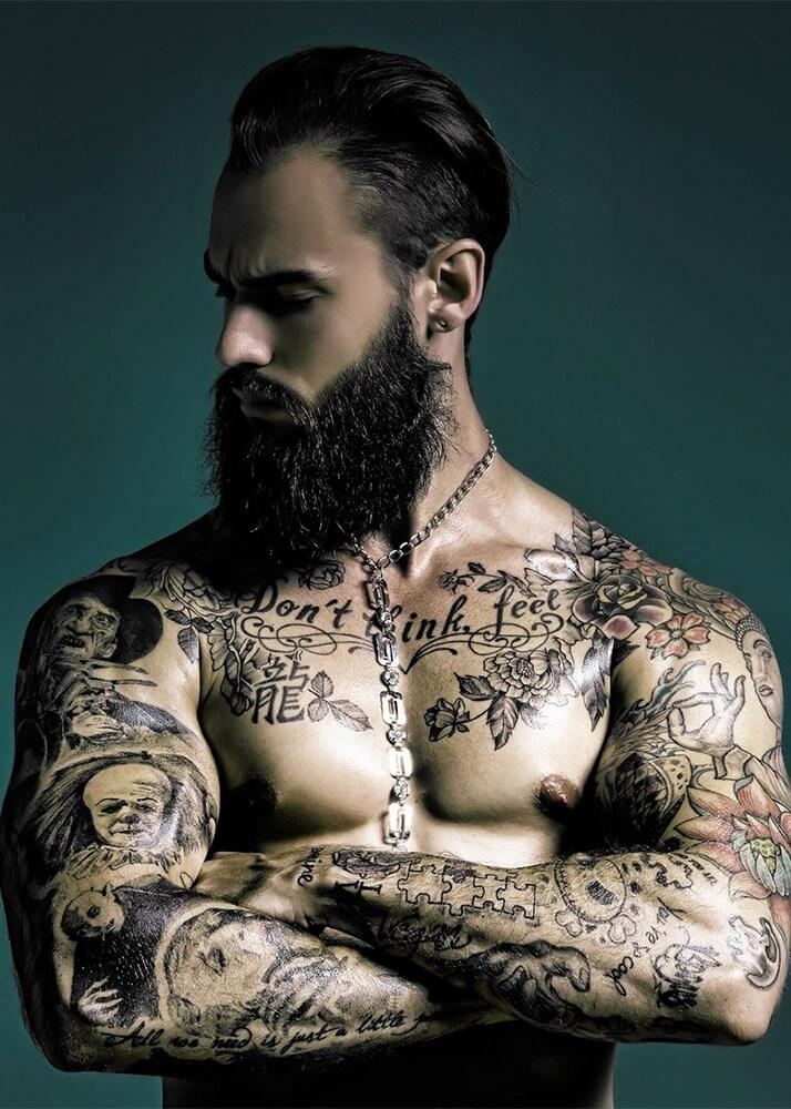 Krys P modelo masculino de la Agencia Plugged Models