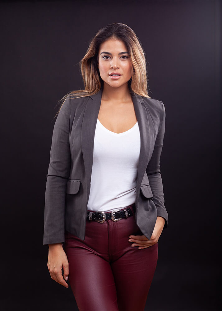 Lidia S de Supervivientes modelo femenin de la Agencia Plugged Models