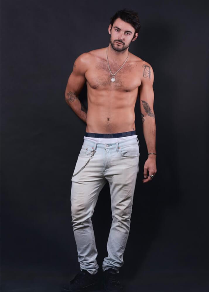 Logan SP modelo masculino publicitario de la agencia Plugged Models