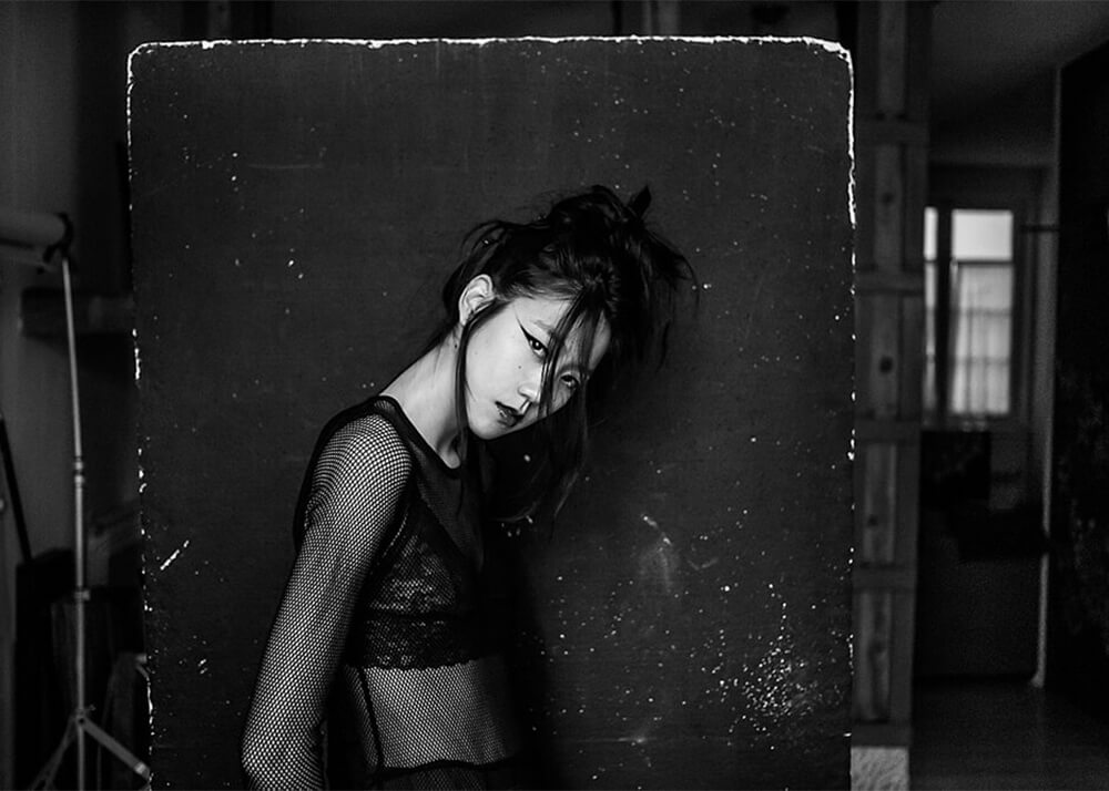 Lucía L modelo femenina de la agencia Plugged Models
