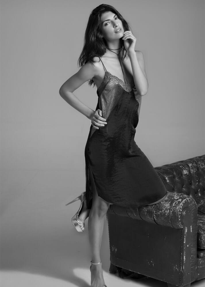 Mariam G actriz y modelo femenina de la agencia Plugged