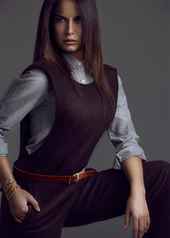 Martina M modelo femenina de la Agencia Plugged Models