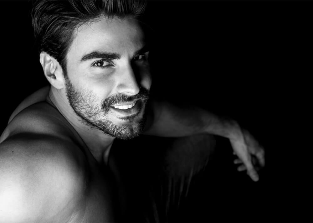 Nacho R modelo masculino de la Agencia Plugged Models