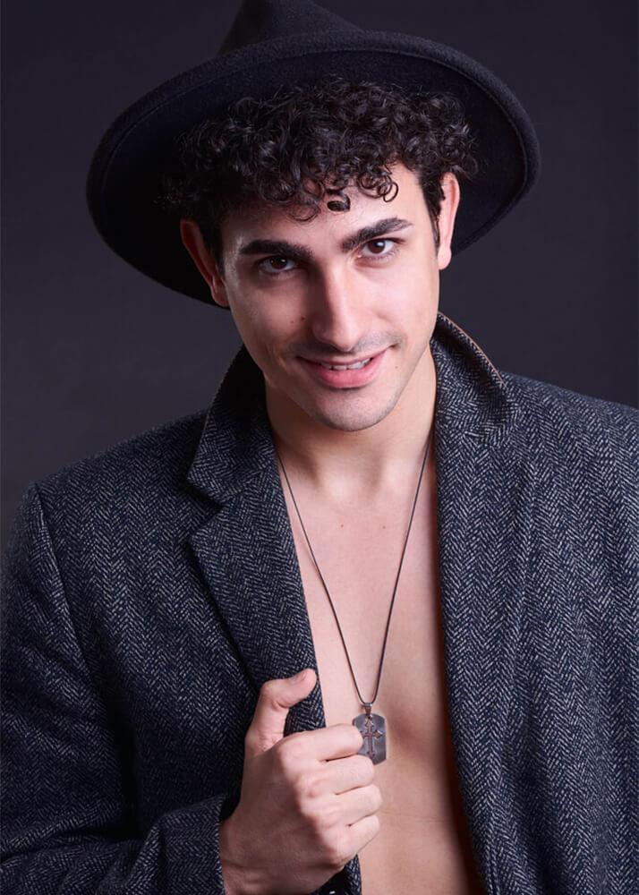 Pablo B actor de la agencia Plugged Models