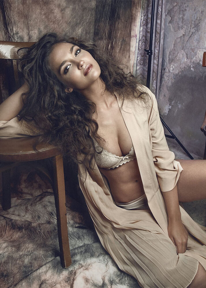Paulina V modelo femenina de la Agencia Plugged Models