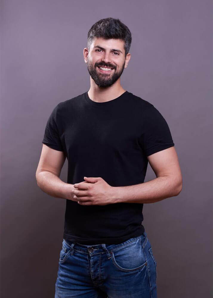 Santi L modelo masculino de la agencia Plugged Models
