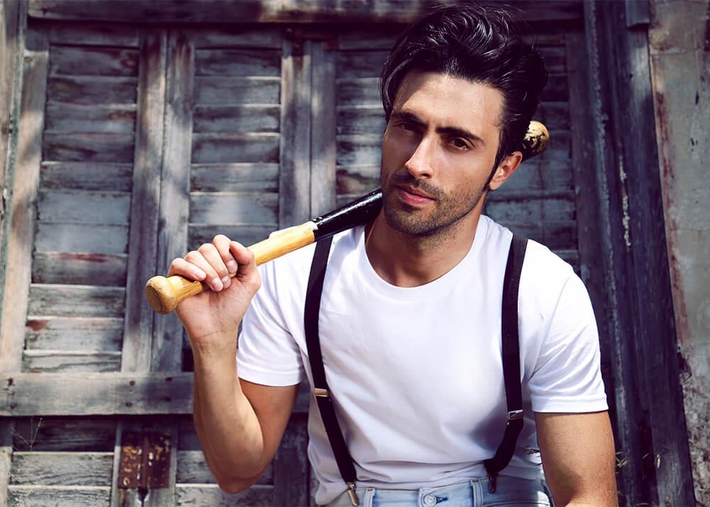Sebastián S modelo publicitario y actor de la Agencia Plugged Models