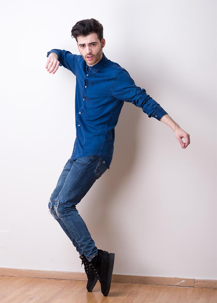 Tony G actor y bailarín de la Agencia Plugged Models