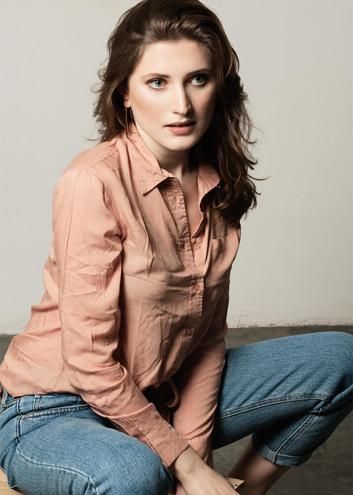Weronika K modelo femenina publicitaria de la Agencia Plugged Models