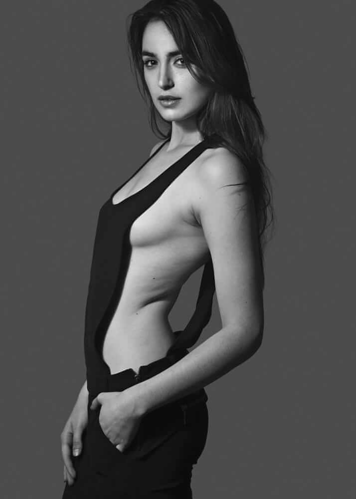 Aitana M.. female model from Plugged Models Management Agency