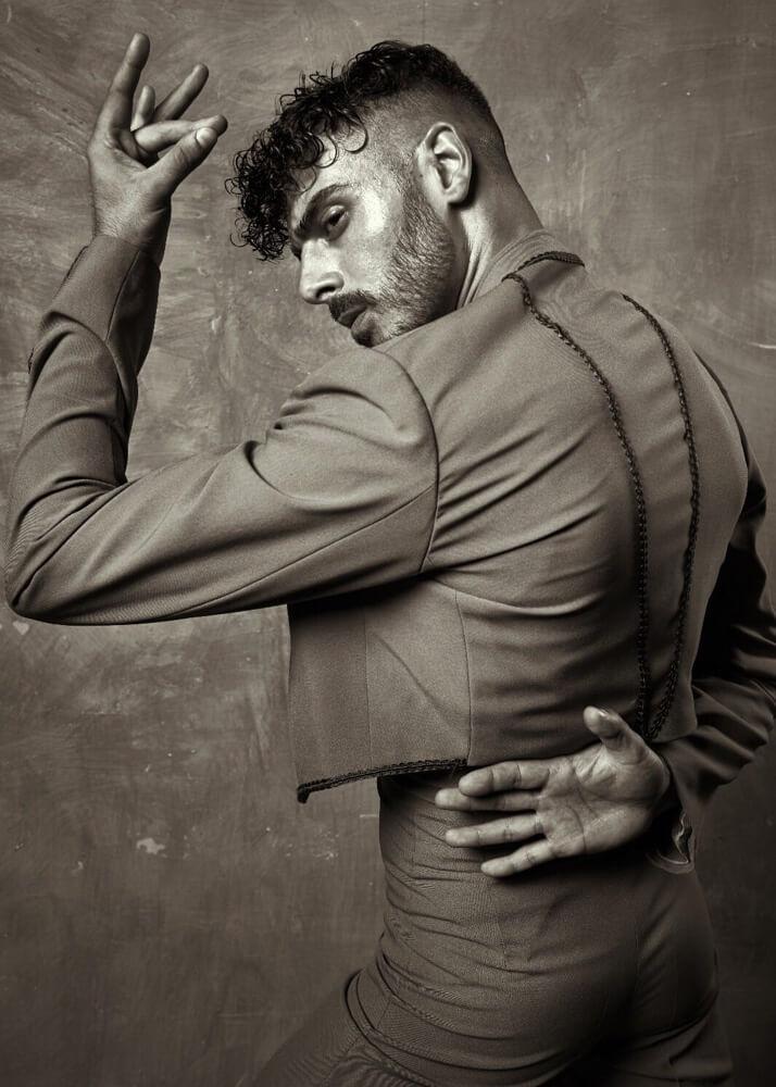 Benjamín L. Modelo y bailaor de flamenco Plugged Models Mgmt