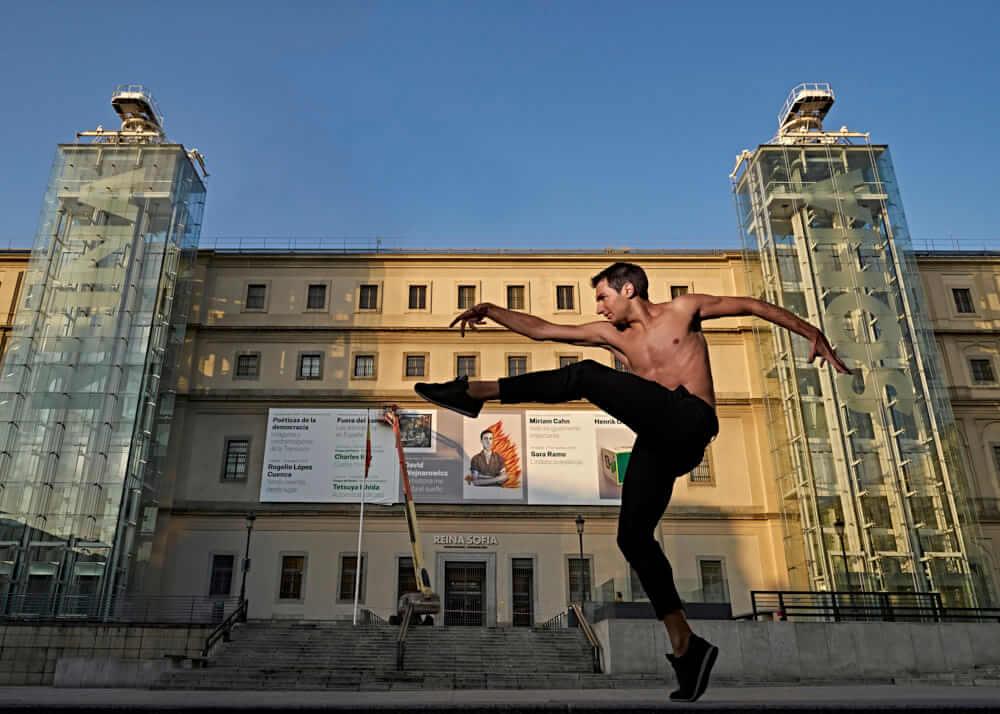 Xavi B. male model and flamenco dancer Plugged Models Mgmt